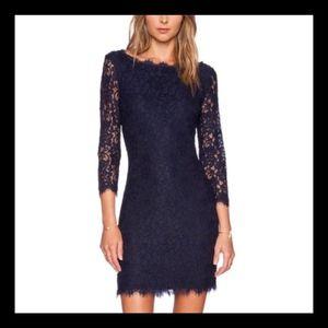 DIANE VON FURSTENBERG Zarita Lace Dress NWT SZ 12